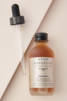 Apr 2020 - Grow Gorgeous Original Hair Density Serum by in Brown Size: All, Bath & Body at Anthropologie Brown Spots On Skin, Skin Spots, Olaplex Hair Treatment, Skincare Packaging, Beauty Packaging, Thickening Shampoo, Feed In Braid, Perfume, Healthy Hair Growth