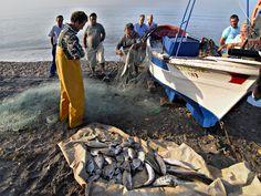 La pesca en el Cabo de Gata by Miguel Hidalgo.