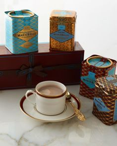 Cacaotelle Hot Cocoa Collection by MarieBelle at Neiman Marcus. $58.00