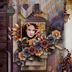 Credits:Wildflower Template by M&M Designs  available in the Monthly Mix at Gingerscraps http://store.gingerscraps.net/Monthly-Mix-Wildflower.html Lovely Autumn by WendyP Designs http://scrapbookbytes.com/store/digital-scrapbooking-supplies/wendyp-lovelyautumnbundle.html