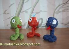 Игрушки от Кумутушки: змея