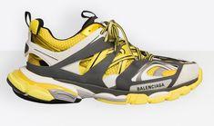 2a11e2296770 BALENCIAGA Track Trainers Yellow Colorway Balenciaga Sneakers
