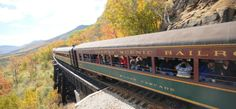 NotchTrainOpenCar, North Conway, New Hampshire