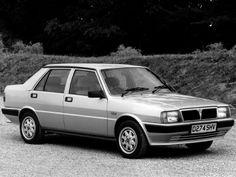 Lancia Prisma UK-spec (831) '1986–89