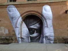 2011′s TED prize winner, street artist and photographer JR, recently collaborated with the famous Chinese artist Liu Bolin for an awesome piece in New York City's Nolita district (North of Little Italy).