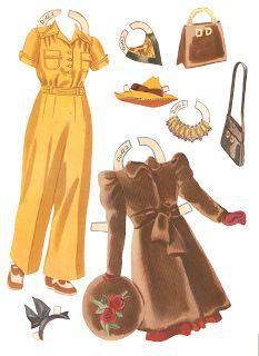 Miss Missy Paper Dolls: Deanna Durbin 1940-clothes Auf missmissypaperdolls.blogspot.com http://www.pinterest.com/genevievebrotec/poup%C3%A9es-en-papier/