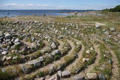Solovetsky Island. Jedna z najstarších stavieb...nejedná malá záhada na ostrove