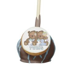 Enjoy Zazzle's amazing Baby cake pops. Twin Boys, Twin Babies, Twins, Baby Shower Cake Pops, Baby Invitations, Cool Designs, Designers, Baby Boy, Bear