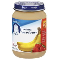 Gerber 3rd Foods Banana Strawberry 6.0 oz. (12 Pack) (€9,33) ❤ liked on Polyvore featuring food, baby, baby food, baby stuff and baby things