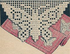 Todays Treasure Shop Talk: Filet Butterfly Insert Pattern to Crochet