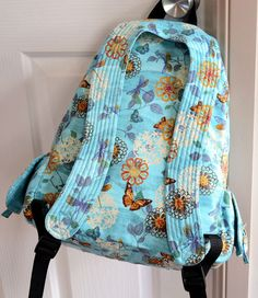 Backpack PDF pattern INSTANT DOWNLOAD Rucksack sewing tutorial -