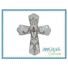 Cross for Thomas Applique Design