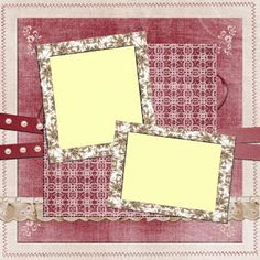 free digital scrapbooking quick page by studio manu quick pages