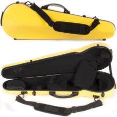 SAVE $31 - #Core 430F Shaped Yellow Fiberglass 4/4 Violin Case $146.00