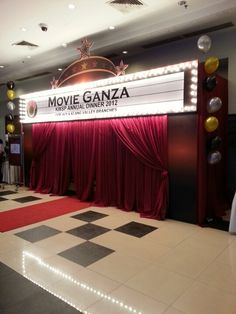 Movie Ganza theme party by Jiggee