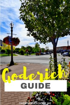 Looking for a great Ontario getaway? Head to Goderich on Ontario's west coast. Here's your guide to things to do in Goderich, where to eat & road trips. Ontario Getaways, Bayfield Ontario, Ontario City, Huron County, Stuff To Do, Things To Do, Lake Huron, Travel Oklahoma, Canadian Rockies
