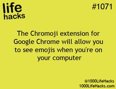 Google Chrome wants you to see all those smiley faces hack