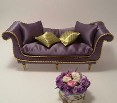 Dollhouse Sofa/12'' Doll Furniture/Living Room