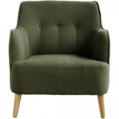 Housedoctor Fauteuil Quest leger groen polyester 75x79xh84cm