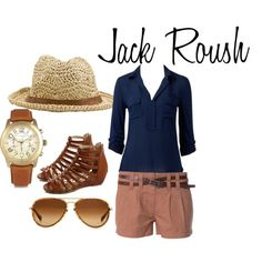 """Jack Roush"" by ashley-nicole-parris on Polyvore"