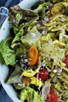 Spätzlesalat, Wunderbares Rezept aus der Kategorie #Sommersalat