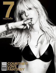 Courtney Love for 7Hollywood Fantasy Issue