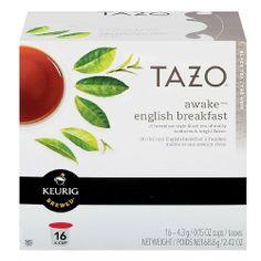 Tazo Awake English Breakfast Tea Keurig K-Cups, 16 Count - http://teacoffeestore.com/tazo-awake-english-breakfast-tea-keurig-k-cups-16-count/