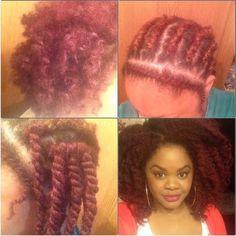 Marley Hair Crochet Braids - Twist-out