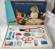 Altes Spielzeug: DDR Combina Spiel Puppendoktor Puppen Doktor