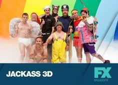 Não perca mais acrobacias e pegadinhas da equipe do JACKASS. Jackass 3D - Sábado, 28 de setembro, 22h  #AssistoFX Confira conteúdo exclusivo no www.foxplay.com