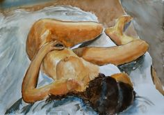 Santiago Rios - Watercolor on Guarro paper 70x100 cm (12/5/2011, Sol' last )