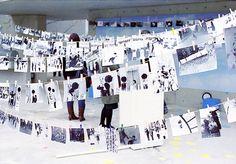 武蔵工大の屋外展示2 Blog Entry, Photo Wall, Display, Frame, Color, Design, Floor Space, Picture Frame, Photograph