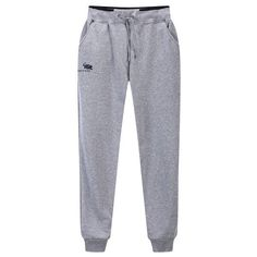 Mens Fashion Long Sports Pants Pencil Casual Gym Running Sweatpants ($21) ❤ liked on Polyvore featuring men's fashion, men's clothing, men's activewear, men's activewear pants, pants, mens slim sweatpants, mens sweatpants, mens slim fit sweatpants, mens activewear pants and mens drawstring sweatpants