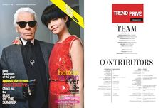 9-12nd of June - Trend Prive Magazine - The Summer Issue