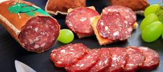 "Recipe ""Just make wild salami yourself"" - Räuchern - Wurst Smoking Cooking, Smoking Meat, Charcuterie, German Sausage, How To Make Sausage, Sausage Making, Meat Lovers, Venison, Coco"