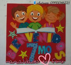Cartel para decoración escolar! Whatsapp: 0993046521 Ecuador-Guayaquil  Instagram: manualidadesenfomix