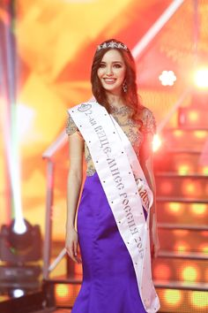 Anastasia Kostenko, 2nd runner-up Miss Russia 2014 and Miss Russia International 2014 (replaced by Alina Rekko because she was named Miss World Russia 2014)