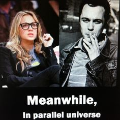 Big Bang Theory - Pendant ce temps, dans un monde parallèle... ;)