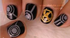 Hungergames Nails! I must have them to!