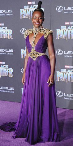 Lupita Nyong'o #BlackPanther #RedCarpet