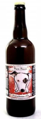 Jolly Pumpkin Bam Biere, one of our Top 10 Craft Beers, a golden-hued, naturally cloudy farmhouse ale/saison