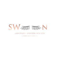 Swoon Lash Studio Logo by Harper Maven Design | www.harpermavendesign.com
