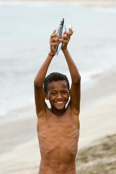 rostos de Cabo Verde