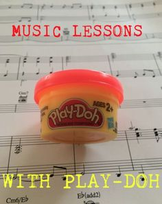 Music Lessons With Play-Doh! Ever thought of using Play - Doh in your music lessons? Well let me tell you, it works wonders! Using play-doh will give you a true hands on experience of learn Music Lessons For Kids, Music Lesson Plans, Music For Kids, Singing Lessons, Kindergarten Music Lessons, Elementary Music Lessons, Singing Tips, Preschool Music Activities, Music Music