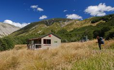 This hut was the our last stop on our tramp. Lakes, New Zealand, Climbing, Tiny House, National Parks, Hiking, Cabin, Adventure, Type