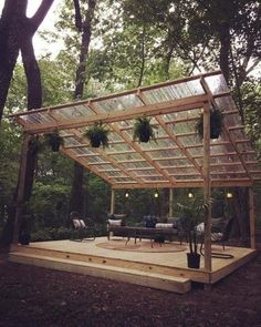 35 Gorgeous And Unique Pergola Cover Ideas With Pictures Budget Patio, Patio Landscaping Ideas On A Budget, Outdoor Patio Designs, Outdoor Kitchen Design, Pergola Designs, Backyard Landscaping, Porch Ideas, Pergola Ideas, Patio Ideas