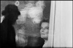 USA. New York City. 1961. Katherine HEPBURN on the set of