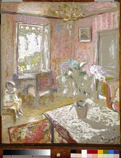 La Chambre rose Vuillard Edouard (1868-1940)
