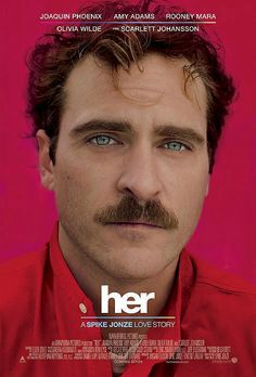 Her (2013) - Spike Jonze takes the helm for this comedy about a withdrawn writer (Joaquin Phoenix) who falls in love with his computer's highly advanced operating system. ~ Jason Buchanan, Rovi