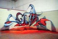 O artista português que faz o graffiti saltar do muro... nota máxima! | Tá Bonito